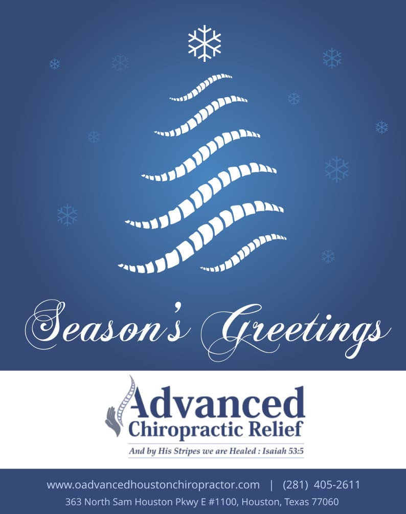 Happy Holidays from Your Houston Chiropractor, Dr. Johnson